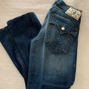 32x30 Men's True Religion Ricky Jeans